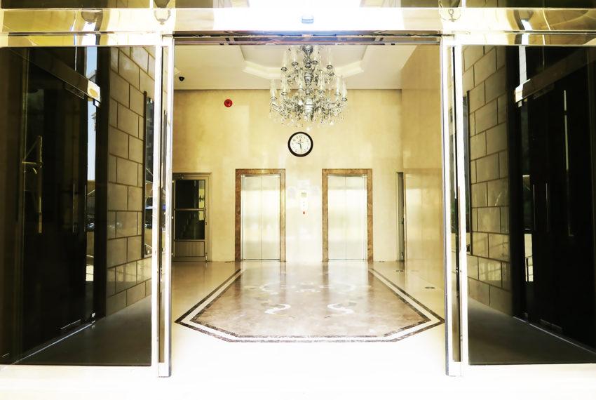 Lobby entrance a